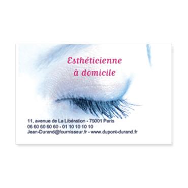 Cartes De Visite Classique Personnalisable Beaute Estheticienne